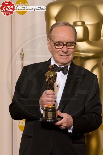 Ennio Morricone - Hollywood - 25-02-2007 - Oscar 2016: a Ennio Morricone la Miglior Colonna Sonora