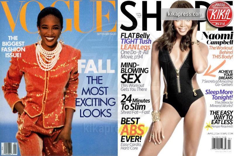 Naomi Campbell - 07-04-2014 - Chi sono le star pro e contro Photoshop