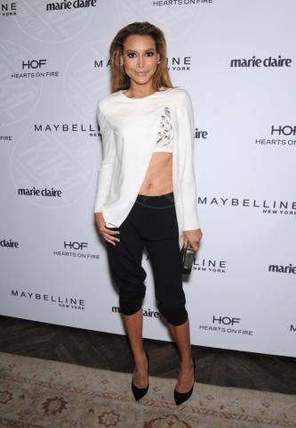 Naya Rivera - West Hollywood - 08-04-2014 - Top Crop & company: pancini al vento sul red carpet