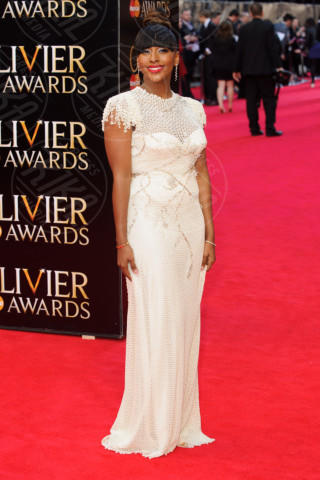 Alexandra Burke - Londra - 13-04-2014 - Vade retro abito! Le celebrity ai Laurence Olivier Awards