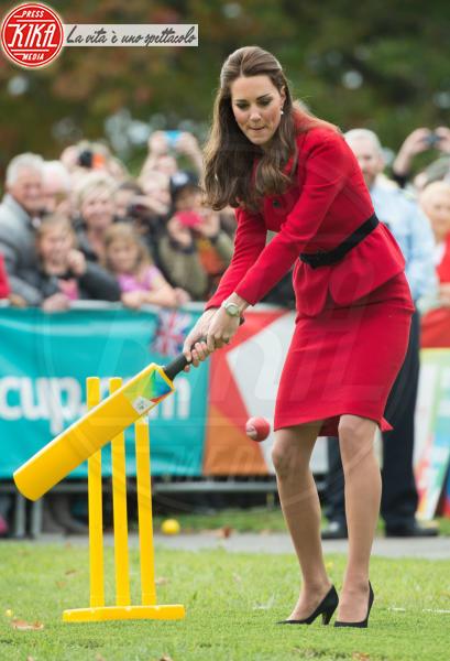 Kate Middleton - Christchurch - 14-04-2014 - Kate Middleton è la signora in rosso… di nuovo!