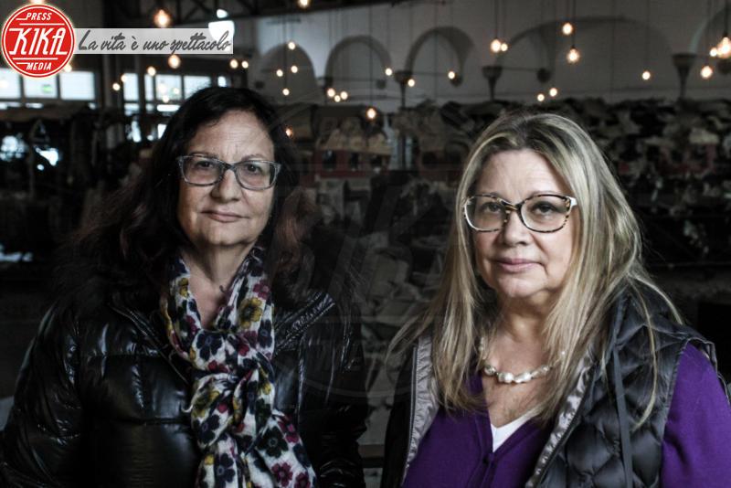 """Ex dipendenti Itavia, Tiziana Davanzali, Luisa Davanzali - Bologna - 05-04-2014 - Luisa e Tiziana Davanzali: """"L'Itavia tornerà a volare"""""""