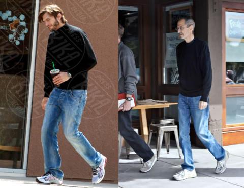 Steve Jobs, Ashton Kutcher - Los Angeles - 14-05-2012 - La riconoscete? Trasformismo, croce e delizia dei veri divi