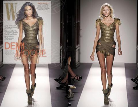 Anja Rubik, Demi Moore - 15-06-2010 - Chi sono le star pro e contro Photoshop