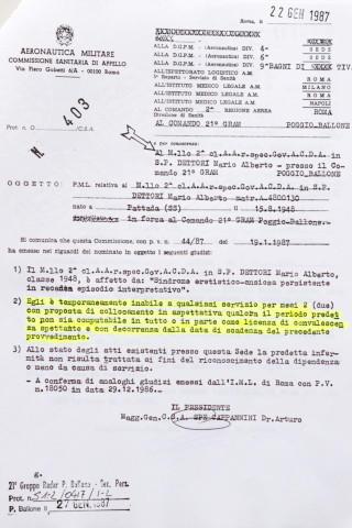 """Maresciallo Dettori, Ustica - Grosseto - 02-04-2014 - Barbara Dettori:""""Mio padre Alberto non si è suicidato"""""""