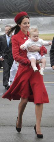Principe George, Kate Middleton - Wellington - 07-04-2014 - Kate Middleton, più che un viaggio… una sfilata!
