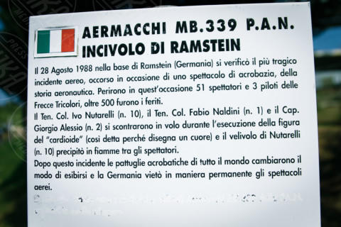 """Monumento - Rimini - 11-04-2014 - """"Morto a Ramstein,vittima di Ustica:la verità su mio fratello"""""""