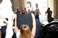 Eros Ramazzotti - Milano - 06-06-2014 - Eros Ramazzotti e Marica Pellegrinelli oggi sposi