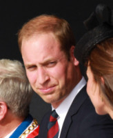Principe William - Inghilterra - 06-06-2014 - Il principe William in lacrime per i ricordi dei veterani