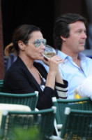 Giangerolamo Carraro, Simona Ventura - Portofino - 08-06-2014 - Bianco, rosso o bollicine? Ecco la bevanda più amata dalle star