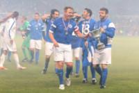 Gordon Ramsay, Michael Sheen - Manchester - 08-06-2014 - Alex Del Piero e Robbie Williams in campo per l'Unicef