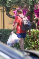 Giacomo Poretti - Varigotti - 08-06-2014 - Giacomo Poretti, primo bagno in famiglia