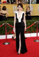 Michelle Dockery - Los Angeles - 18-01-2014 - Bianco e nero: un classico sul tappeto rosso!