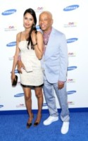 Russell Simmons - New York - 10-06-2014 - Jessica Alba, in rosso per il Samsung Hope for Children Gala