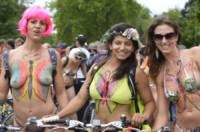 Naked Cyclists, Naked Bike Ride - Londra - 14-06-2014 - London Naked Bike, Londra si mette a nudo