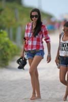 Adriana Lima - Miami - 15-06-2014 - Con gli shorts di jeans, siamo tutte Daisy Duke!