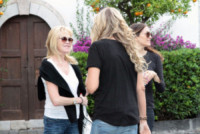 Tiziana Rocca, Melanie Griffith - Taormina - 16-06-2014 - Melanie Griffith 'cancella' Banderas dalla sua vita e non solo