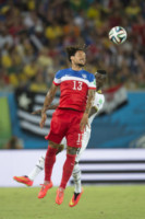 Daniel Opare, Jermaine Jones - Natal - 16-06-2014 - Brasile 2014: gli Stati Uniti esordiscono con il Ghana
