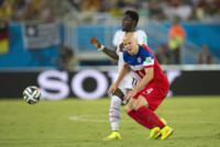 Sulley Muntary, Michael Bradley - Natal - 16-06-2014 - Brasile 2014: gli Stati Uniti esordiscono con il Ghana