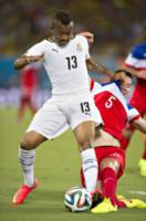 MATT BESLER, JORDAN AYEW - Natal - 16-06-2014 - Brasile 2014: gli Stati Uniti esordiscono con il Ghana