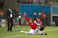 Fabian Johnson, Sulley Muntari - Natal - 16-06-2014 - Brasile 2014: gli Stati Uniti esordiscono con il Ghana