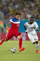 MOHAMMED RABIU, Jermaine Jones - Natal - 16-06-2014 - Brasile 2014: gli Stati Uniti esordiscono con il Ghana