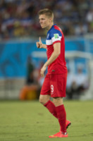 Aron Johannsson - Natal - 16-06-2014 - Brasile 2014: gli Stati Uniti esordiscono con il Ghana