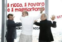 Giacomo Poretti, Giovanni Storti, Aldo Baglio - Milano - 17-06-2014 - Aldo, Giovanni e Giacomo tornano al cinema