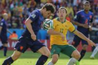 Daryl JANMAAT, Tommy OAR - PORTO ALEGRE - 18-06-2014 - Brasile 2014: l'Olanda vince sull'Australia