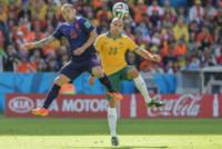 Mark BRESCIANO, Wesley Sneijder - PORTO ALEGRE - 18-06-2014 - Brasile 2014: l'Olanda vince sull'Australia