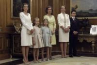 Principessa Leonor di Borbone, Infanta Elena di Borbone, Sofia di Spagna, Principessa Sofia, Letizia Ortiz - Madrid - 19-06-2014 - Felipe VI è il nuovo re di Spagna: trasparenza per la Corona
