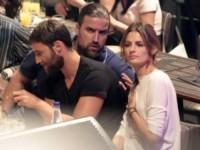 Kris Brkljac, Stana Katic - Atene - 18-06-2014 - Stana Katic regina di fiori in Grecia