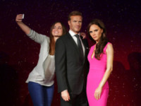 David Beckham, Victoria Beckham - Londra - 19-06-2014 - David e Victoria Beckham invecchiano anche al Madame Tussauds