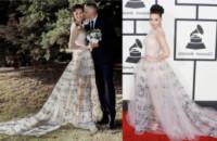 Marica Pellegrinelli, Katy Perry - 23-06-2014 - Chiara Ferragni e Marica spose, chi lo indossa meglio?