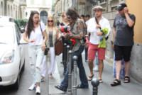 Steven Tyler - Milano - 23-06-2014 - Steven Tyler scatenato con i fan a Milano