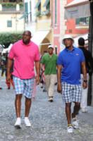 Magic Johnson, Samuel L. Jackson - Portofino - 24-06-2014 - Samuel L. Jackson e Magic Johnson: i gemelli