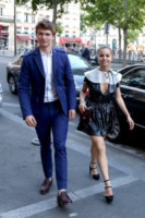 Ansel Elgort - Parigi - 25-06-2014 - Luna di miele parigina per Eros e Marica Ramazzotti