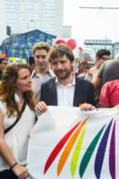 Pierfrancesco Majorino - Milano - 28-06-2014 - Arriva l'onda arcobaleno: il pride nelle città del mondo