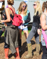 Cressida Bonas - Glastonbury - 28-06-2014 - Glastonbury: Cressida Bonas, da principessa a punk-girl