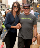 Susan Schneider, Robin Williams - New York - 06-10-2012 - Robin Williams torna in rehab per problemi con droga e alcol