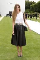 Bianca Brandolini d'Adda - Parigi - 07-07-2014 - Camicia bianca e gonna nera: un look… evergreen!