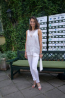 Anna Safroncik - Roma - 09-07-2014 - In primavera ed estate, le celebrity vanno in bianco!