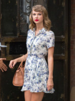 Taylor Swift - New York - 09-07-2014 - Il minidress floreale per sentirsi una jeune fille en fleur
