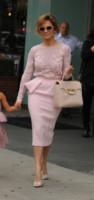 Emme Maribel, Lynda Lopez, Jennifer Lopez - New York - 10-07-2014 - Chic e raffinato, ecco l'abito a tulipano
