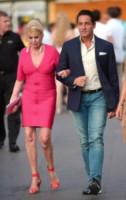 Marcantonio Rota, Ivana Trump - St. Tropez - 16-07-2014 - La rivincita delle bionde in rosa shocking: le vip sono Barbie!