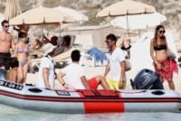 Daniel Maldini, Christian Maldini, Adriana Fossa, Paolo Maldini - Formentera - 17-07-2014 - Paolo Maldini e Adriana Fossa: crisi? No grazie!