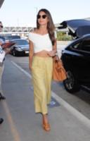 Lily Aldridge - Los Angeles - 21-08-2014 - In carrozza! Anche il viaggio ha il suo dress code
