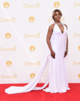 Laverne Cox - Los Angeles - 25-08-2014 - Emmy Awards 2014:lo strascico, il classico che non tradisce mai