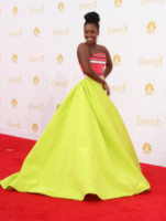 Teyonah Parris - Los Angeles - 25-08-2014 - Emmy Awards 2014, sul red carpet sfilata di bomboniere