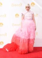 Lena Dunham - Los Angeles - 25-08-2014 - Emmy Awards 2014: è il rosso il colore dominante